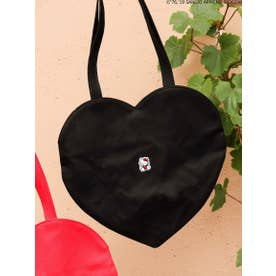 CHIC-ish KITTY heart bag (BLK)