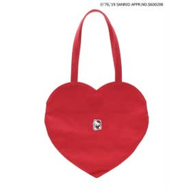 CHIC-ish KITTY heart bag (RED)