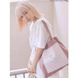 80's Sanrio characters tote bag(ラベンダー)