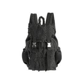 floralジャガードバックパック(ブラック)