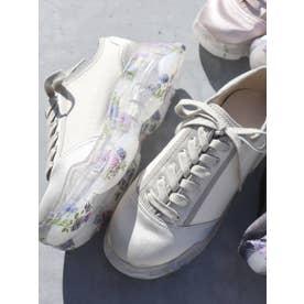 floral sneaker(アイボリー)