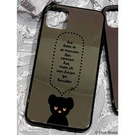 【11proMAX】BLACK BEAR iPhone case(ブラック)