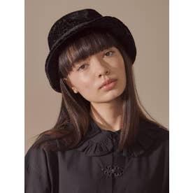 floralオパールバケットhat(ブラック)