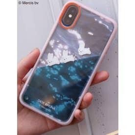 【X/Xs】 ぷかぷかうさぎiPhone case(ピンク)