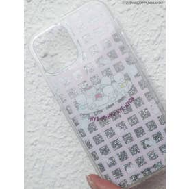 【12】80's Sanrio characters iPhone case(ピンク)
