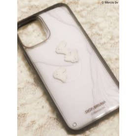 【11Pro】シックなぷかぷか iPhone case(ブラック)