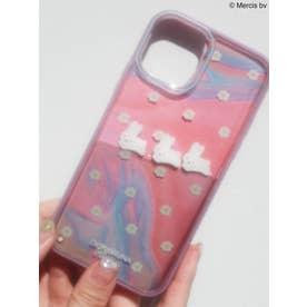 【11Pro】お花のぷかぷか iPhone case(グレープ)