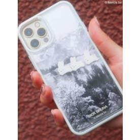 【12】シックなぷかぷかiPhone case(アイボリー)
