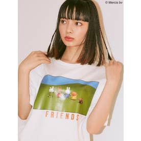 miffy FRIENDS Tシャツ(オフホワイト)