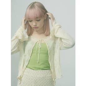cotton bralet camisole(グリーン)