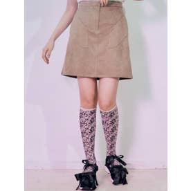 surgeポケットミニスカート(カーキ)