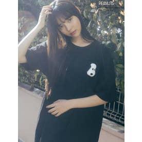 SNOOPYTシャツ(ブラック)