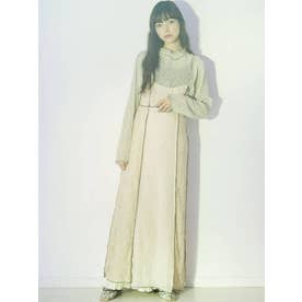 shear lace camisole one piece(ベージュ)