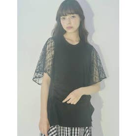 ドロストレースTシャツ(ブラック)