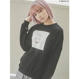 miffy boo pullover(ブラック)