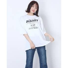 ピグメントロゴTシャツ (オフホワイト)