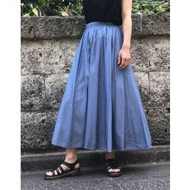 パネルボリュームスカート (ブルー)