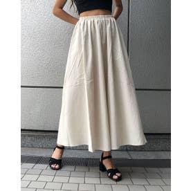 リネンギャザースカート (キナリ)