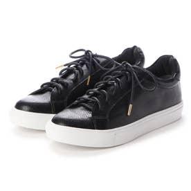 晴雨兼用生活防水スニーカー (ブラック)