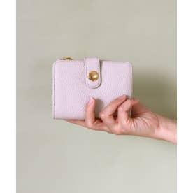 イタリアンレザー二折り財布 (アイボリー)