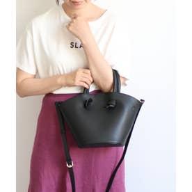 バケツ型2wayトート巾着付き (ブラック)
