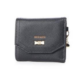 パウダー リボンブローチ付き3つ折り財布 (10)