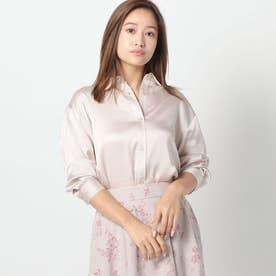 とろみマットシャツ (ピンク系)