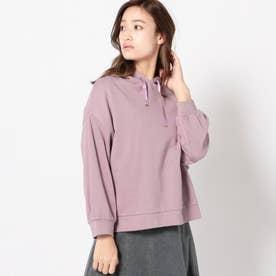 サテンリボンパーカー (紫系)
