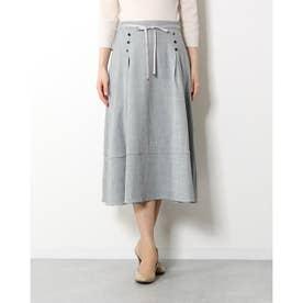 タック切替スカート (クロ)