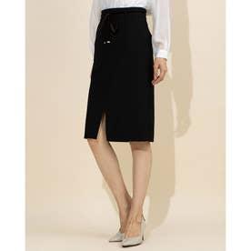 ポケットタイトスカート (クロ)