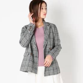 テーラードコートジャケット (シロクロ)
