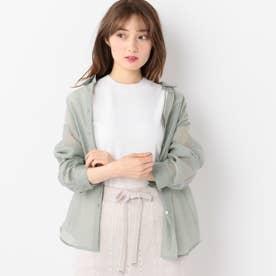 シアーシャツ (緑系)