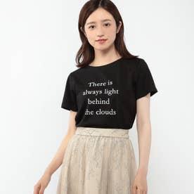 プリントTシャツ (クロ)