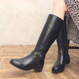 ミッシー デ ミッシー カジュアルファッションにオススメ ベーシックデザイン ロングブーツ MMD7506 (ブラック)