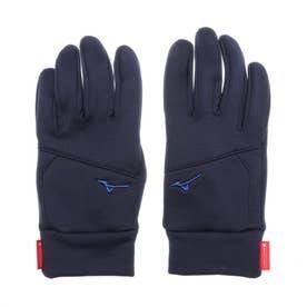 手袋 ブレスサーモストレッチフリースグラブ[] B2JY050514 (ネイビー)
