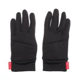 手袋 ブレスサーモストレッチフリースグラブ[] B2JY050509 (ブラック)