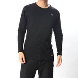 メンズ ゴルフ 長袖インナーシャツ ブレスサーモヘビーウエイト肌着 クルーネック長袖シャツ 52JA559009