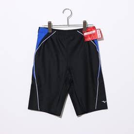 メンズ 水泳 フィットネス水着 ルーズスパッツ N2JB012092 【返品不可商品】 (ブラック)