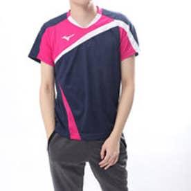 バドミントン 半袖 Tシャツ ゲームシャツ 72MA800514