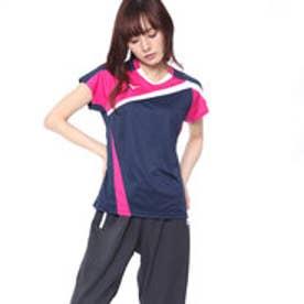 レディース バドミントン 半袖 Tシャツ ゲームシャツ72MA820514