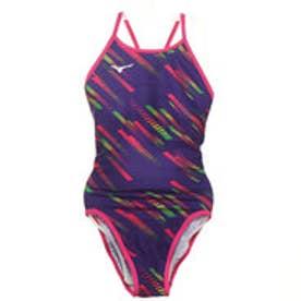 レディース 水泳 競泳水着 エクサースーツ ミディアムカット N2MA976267【返品不可商品】