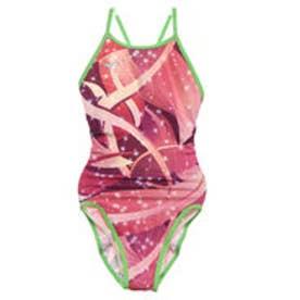レディース 水泳 競泳水着 エクサースーツ ミディアムカット N2MA976165【返品不可商品】