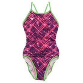 レディース 水泳 競泳水着 エクサースーツ ミディアムカット N2MA976465【返品不可商品】