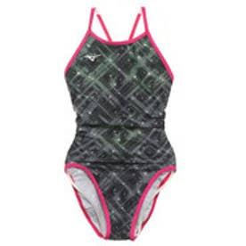 レディース 水泳 競泳水着 エクサースーツ ミディアムカット N2MA976409【返品不可商品】