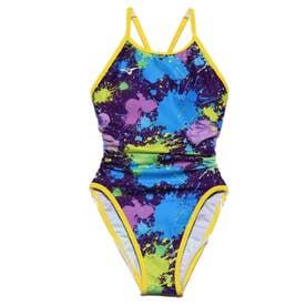 レディース 水泳 競泳水着 エクサースーツ ミディアムカット N2MA026568 【返品不可商品】