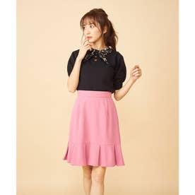 マーメイドミニスカート (ピンク)