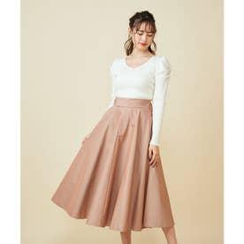カラースカート (オレンジ)