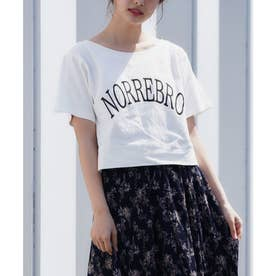 ロゴスウェットTシャツ (オフホワイト)