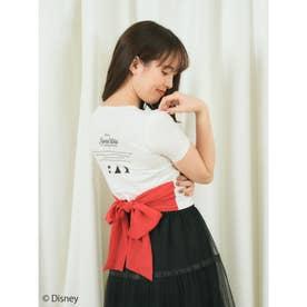 プリンセスバックリボンTシャツ (レッド)