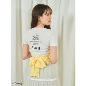 プリンセスバックリボンTシャツ (イエロー)